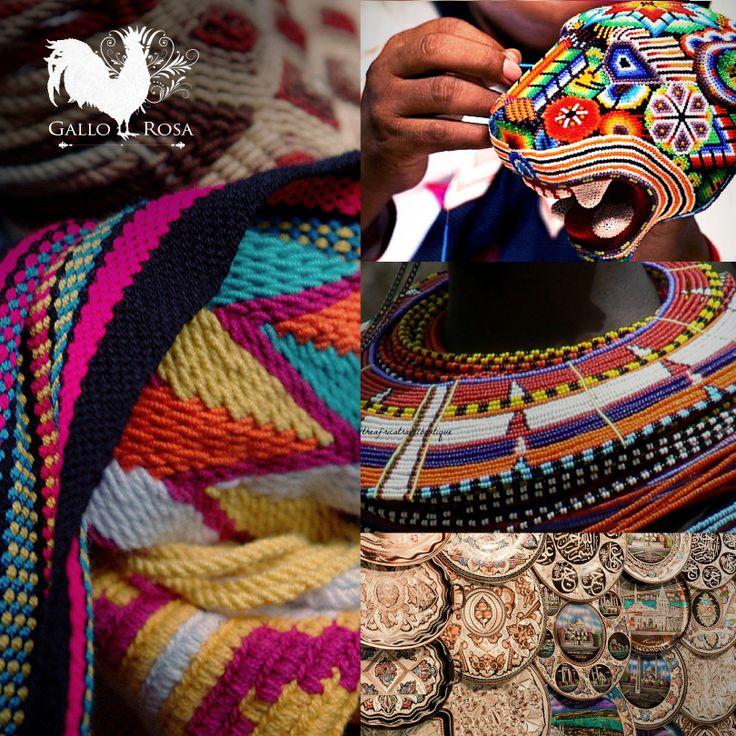 Somos una mezcla de sensaciones y emociones en el corazón que no podrán controlar #GalloRosa #HechoConElCorazon #HechoAMano #Artesanos #Diseño #Pasión #Cultura