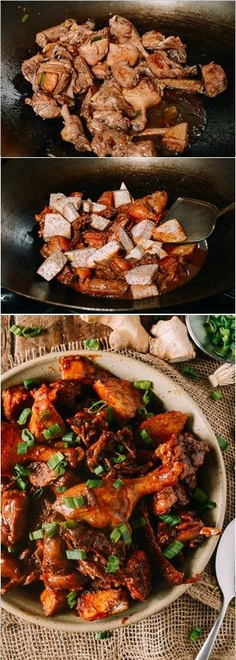 #Braised #Duck with #Taro, recipe by the Woks of Life
