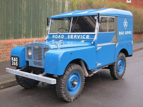 """1950 80"""" Land Rover Series 1 Maintenance/restoration of old/vintage vehicles: the material for new cogs/casters/gears/pads could be cast polyamide which I (Cast polyamide) can produce. My contact: tatjana.alic@windowslive.com"""