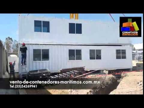 venta de contenedores maritimos usados - YouTube