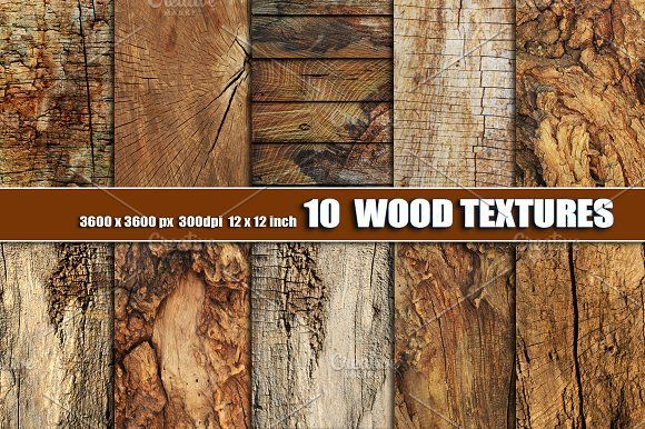 OLD  DARK WOOD TEXTURE BACKGROUNDS by Area on @creativemarket