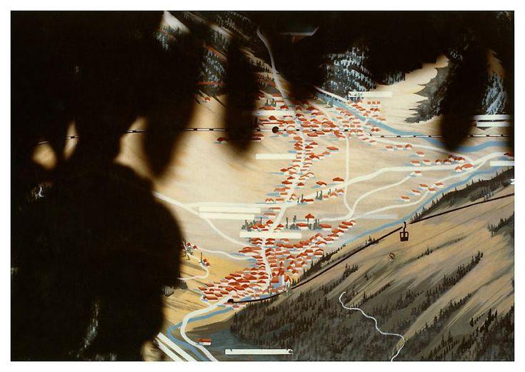 Luigi Ghirri, Bressanone, 1978, Cibachrome, 5 7/8 x 8 5/8 inches; 15 x 22 cm
