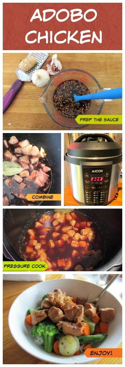 Reviews, Chews & How-Tos: Pressure Cooker Chicken Adobo