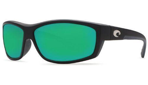 Costa Del Mar Saltbreak 580G Matte Black/Green Mirror Polarized Sunglasses