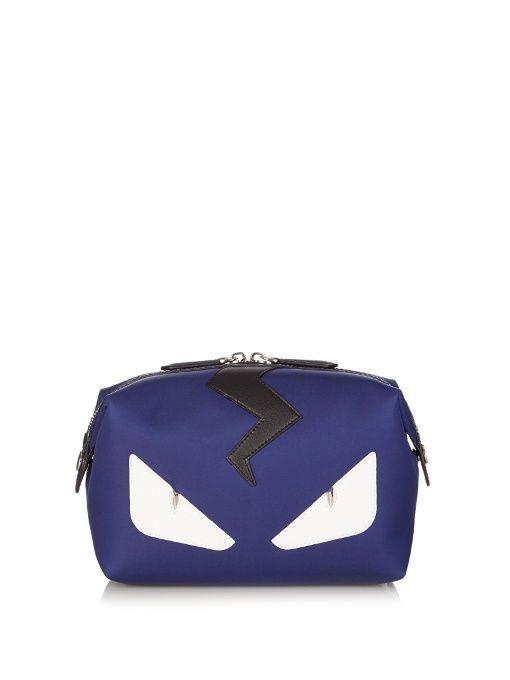 FENDI Bag Bugs nylon washbag. #fendi #washbag