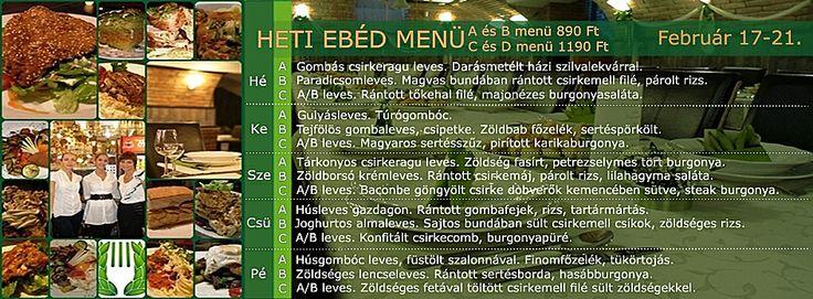 Babér Bisztró Étterem Ideális Rendezvényhelyszín! Minden nap minőségi, változatos ebéd menü! A menü, B menü, Prémium menü, XXL menü, Vegetáriánus menü. Ingyenes ebéd házhoz szállítás a VI.-VII. kerületben. Rendelés: 720-3328, +36 30 9000 550 www.baberbisztro.hu www.facebook.com/baberbisztro Like, ha tetszik!