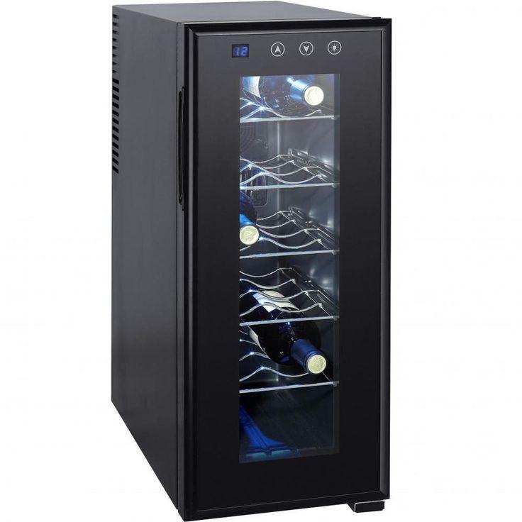 Weinkühlschrank Syntrox WK-33L-12 Getränkekühlschrank für 12 Flaschen