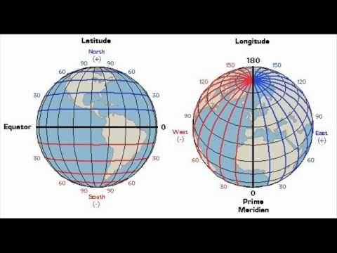 LONGITUDE AND LATITUDE VIDEO~  Good, detailed resource for teaching longitude, latitude, and Prime Meridian.  (4:16 min.)