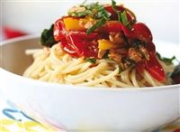 Weigh-Less Online - Cherry Tomato And Tuna Pasta