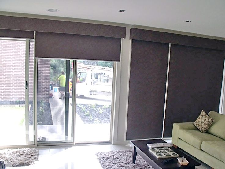 Clarksblinds Com Au Wp Content Gallery Roller Blinds Brown Pelmet
