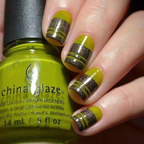 Mejores 127 imágenes de Nails en Pinterest | Diseños de uñas, Uñas ...