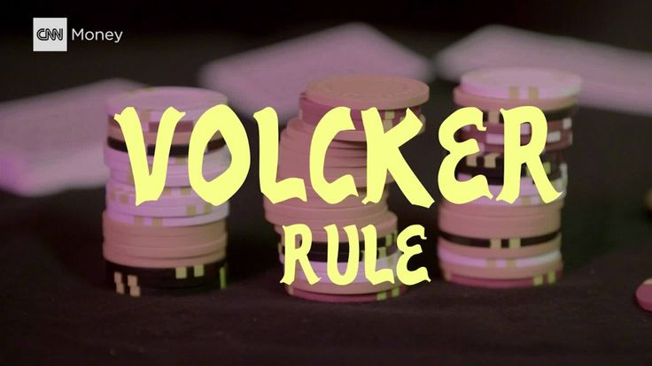 The Volcker Rule Explained       Big banks shouldn't act like hedge funds by making dangerous bets that can ruin the economy.  That's the principle behind the Volcker Rule, a controversial part of the post-crisis Wall Street reform.   #OTC #pennystock #pennystocks