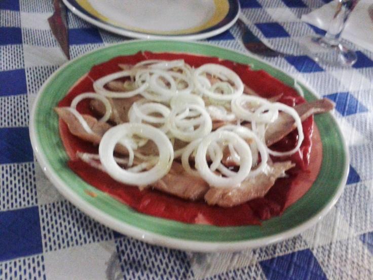 """Ensalada de ventresca en """"El fuelle"""" de Zaragoza"""