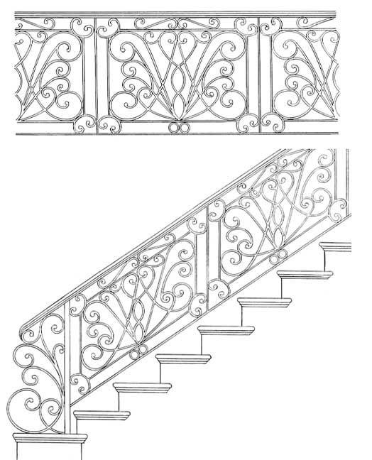 Stair Railing Designs ISR108