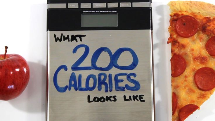 This is what 200 Calories Looks Like, by AsapScience