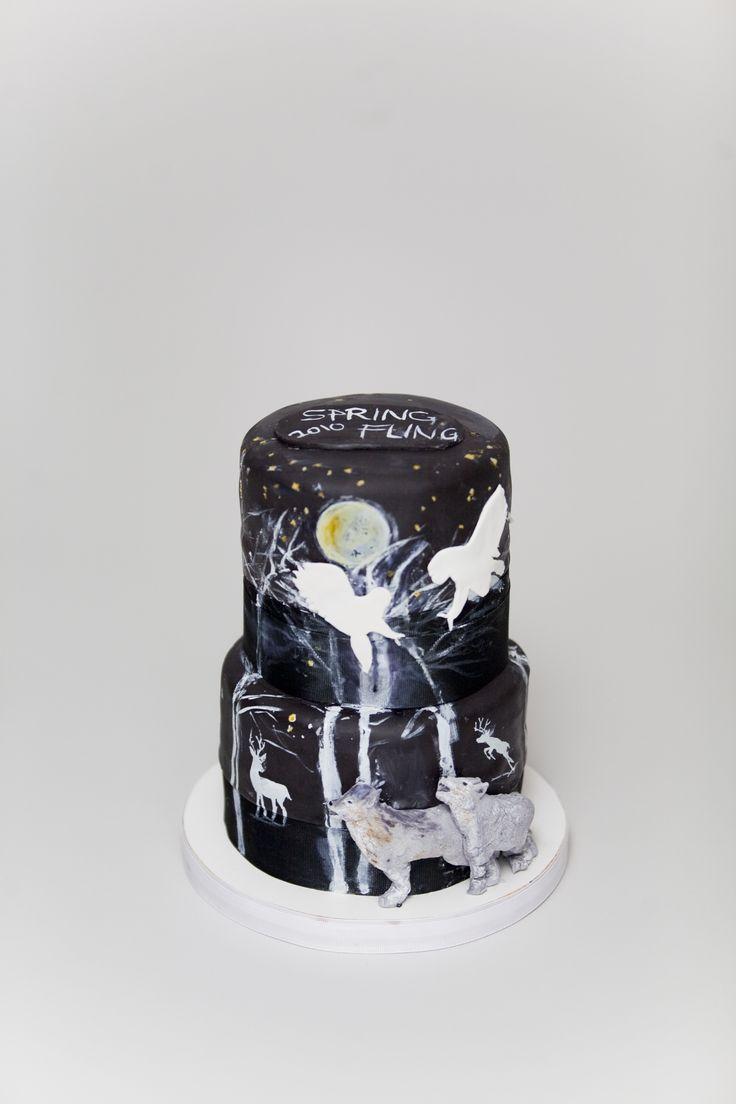 Art Birthday Cake Ideas