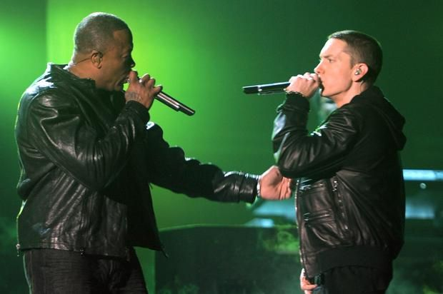 Dr. Dre Reportedly Working On Track For New Eminem Album