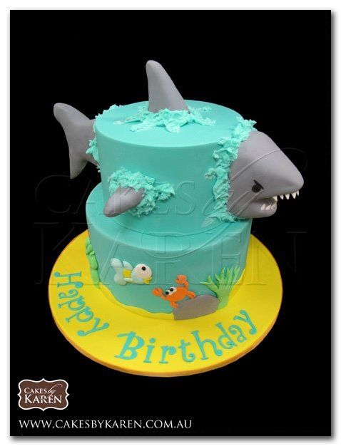 another shark cake