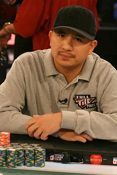 J.C. Tran was born in Vietnam, and is the youngest of eight children of Vietnamese parents. He has won two World Series of Poker bracelets and two World Poker Tour titles. He has 15 final table appearances between the two. Justin Cuong Van Tran has more than $11.2-million in lifetime tournament winnings.  http://en.wikipedia.org/wiki/J.C._Tran
