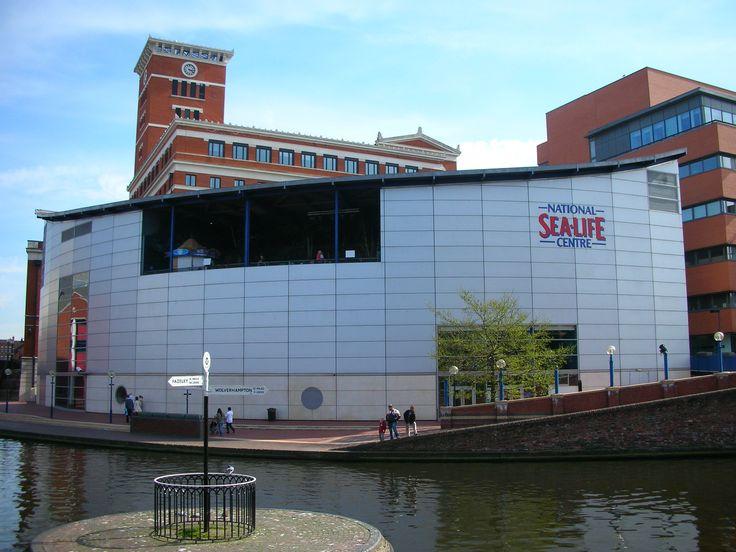 Birmingham Sea Life Centre.