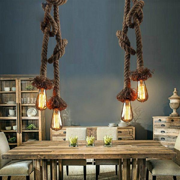 Die besten 25+ Hanfseil lampe Ideen auf Pinterest Eulen lampe - wohnzimmer lampen rustikal