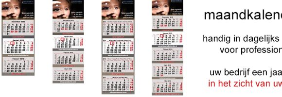 5 maandkalenders