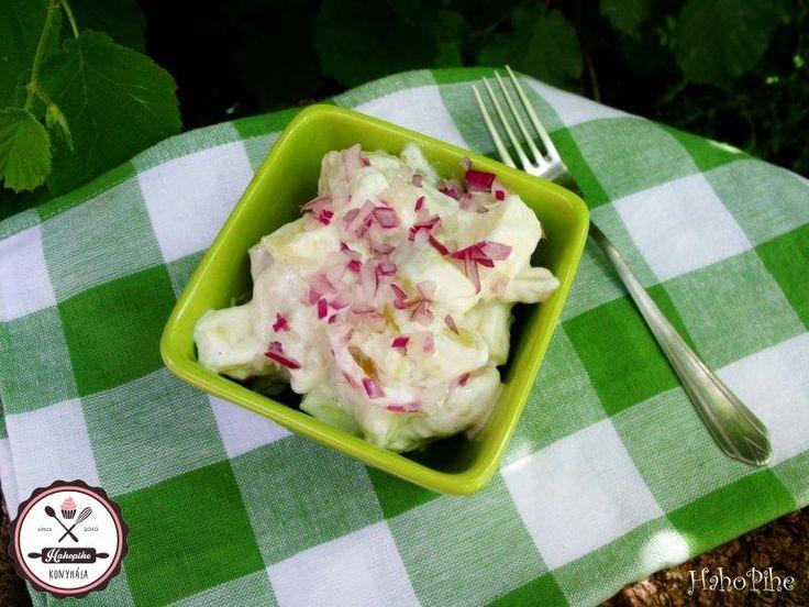 Pácolt majonézes burgonyasaláta | HahoPihe Konyhája - Receptneked.hu