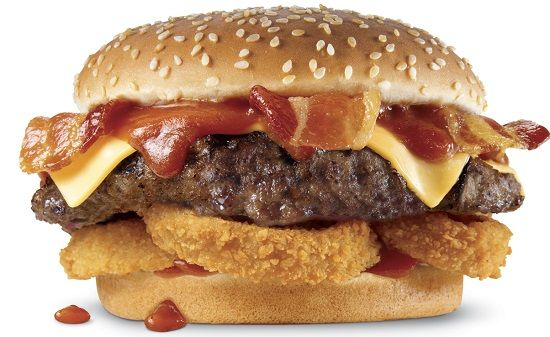 Carl Jr Famous Star Burger