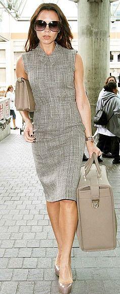 Victoria Beckham ~ платье,футляр,прямое,модели,осень,зима,элегантное платье,