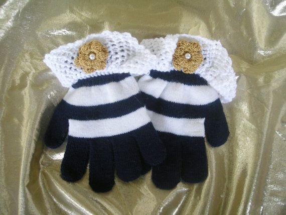 Fancy Girls Gloves, Crochet gloves, Kid gloves, Vintage style Gloves, Lace gloves,Handmade  by CelinaRoseDesigns on etsy, $12.00