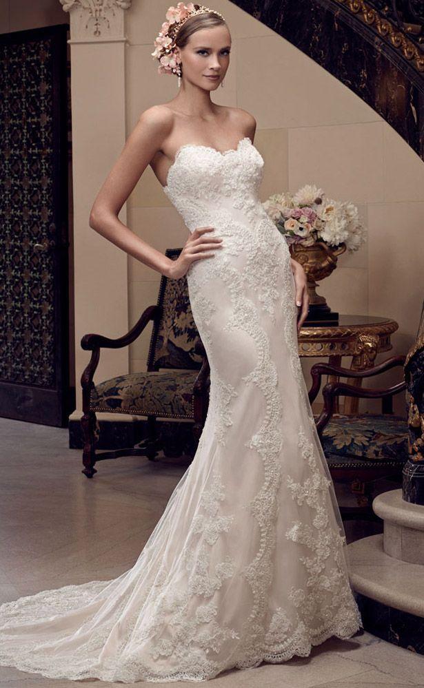 Casablanca Bridal Spring 2015 2201_Front