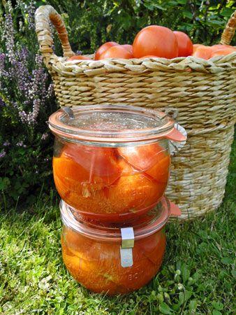 kudy-kam: Konzervování  Nakládaná rajčata
