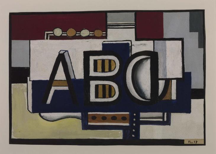 Fernand Léger, 'ABC' 1927