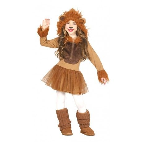 Disfraz Leona niña infantil