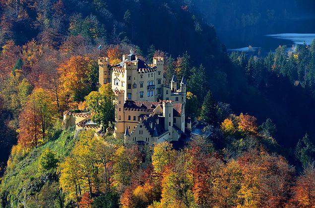Hohenschwangau Kalesi - Almanya