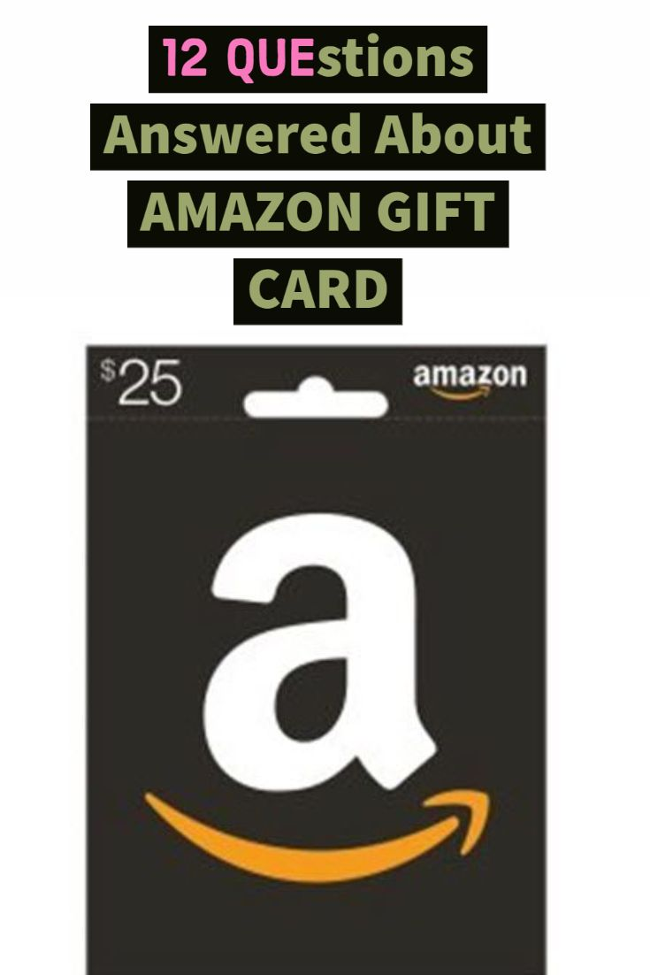 12 Questions Answered About Amazon Gift Card Amazon Gift Cards Amazon Gifts This Or That Questions
