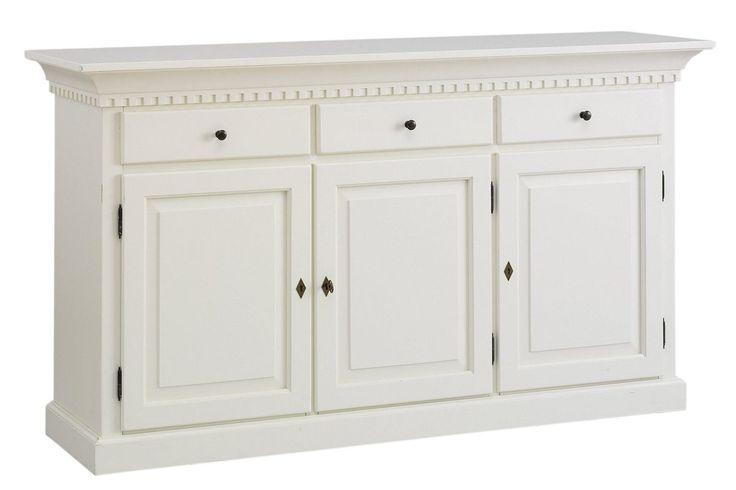 Sideboard weiß, ca. 92/165/45cm, FSC®-zertifiziert, heine home Jetzt bestellen unter: https://moebel.ladendirekt.de/wohnzimmer/schraenke/sideboards/?uid=9d25d41f-7eb6-55b7-9187-e618af6276e5&utm_source=pinterest&utm_medium=pin&utm_campaign=boards #schraenke #sideboard #wohnzimmer #sideboards