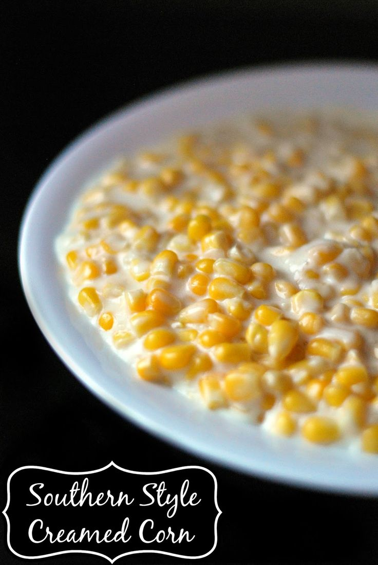 Southern Style Creamed Corn | Aunt Bee's Recipes