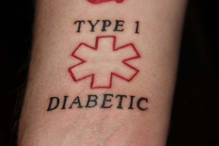 Just the outline diabetes food for thought pinterest for Diabetes tattoo ideas