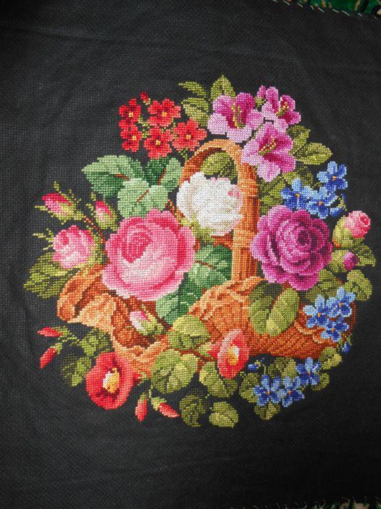 Gallery.ru / Фото #1 - Basket with flowers - Veera49
