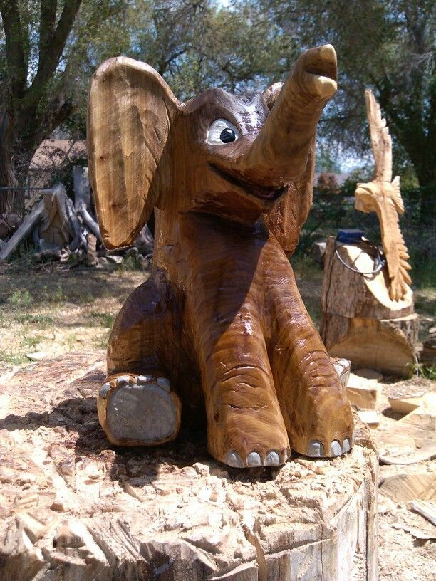 Best carved animals images on pinterest chainsaw