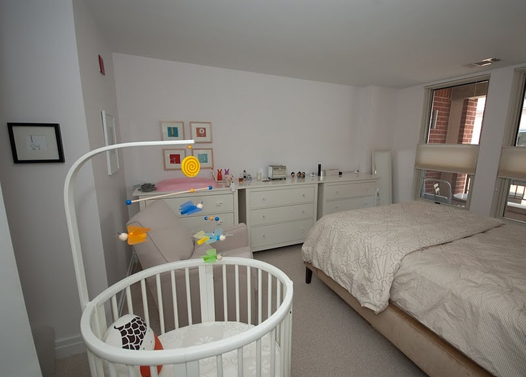 in a one bedroom apartment and converted the corner of their bedroom