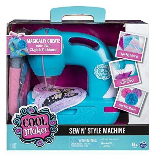 Cool Maker Sew N' Style Kids Sewing Machine