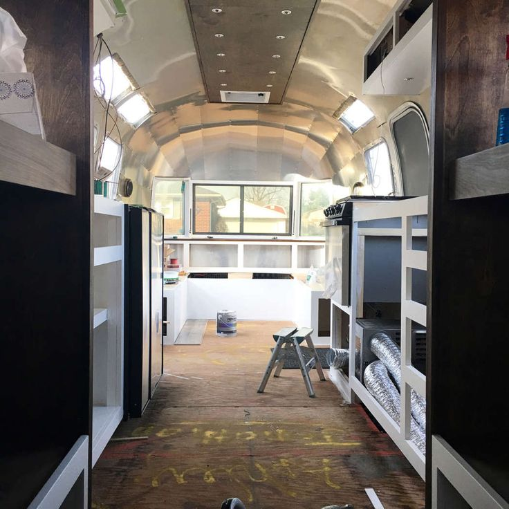Airstream Renovation Family of 6