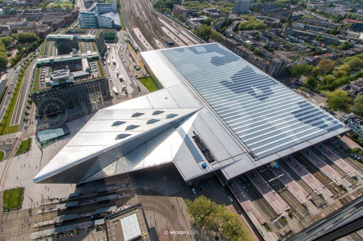 rotterdam-centraal-station-van-bovenaf