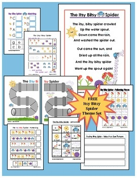 Spider Theme Activities, Lessons, and Teaching Ideas