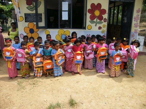 New Year Party at Malamulla Montessori in Sri Lanka