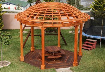 Pergola Kits: Shop Redwood Garden Pergola Kit