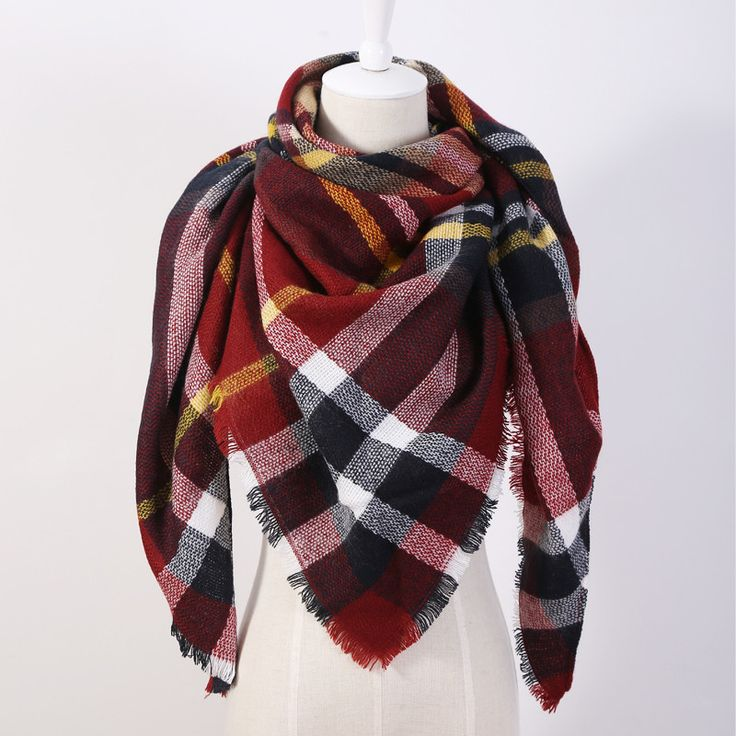 Item Type: Scarves Pattern Type: Plaid Department Name: Adult Scarves Type: Scarf Style: Fashion Gender: Women Material: Cashmere,Acrylic Model Number: OL088 Scarves Length: >175cm Scarves Shape: Tria