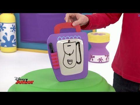 Art attack leon maakt bladwijzers disney junior be - Tablero para escritorio ...